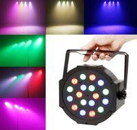 Wholesale Used Dj Lighting - RGBAW LED laser stage light 18*15W Super bright DMX led par light pub dancing party use many color change