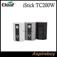 ss cover - Eleaf iStick TC200W with Upgradeable Firmware TC Ti Ni SS TCR VW Modes TC W Innovative Flip open Battery Cover Dual Circuit ProtectionTC