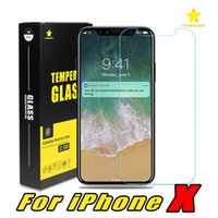 Wholesale Screen Protector Film 3d - For Iphone 8 Plus iPhone X Iphone7 Plus Most Economical Tempered Glass Film Screen Protector 0.3MM 2.5D Ship Out Within 1Day