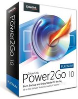 Versione retail di CyberLink Power2Go Platinum 10