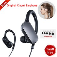 Wholesale Waterproof Mp3 Bluetooth Headphones - Original Xiaomi Mi Sports Bluetooth 4.1 Wireless Headphones Music Earphones Mic IPX4 Waterproof Wireless Headset for Mi6 fone de ouvido