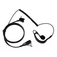 Wholesale Two Way Headset Walkie Talkie - G-Shape Radio Earpiece Headset for MOTOROLA TETRA MTH800 MTH850 MTP850 Two Way Radio Comunicador Walkie Talkie C2153A