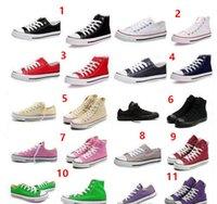 Wholesale Renben Canvas Shoe - 2017 High-quality RENBEN Classic Low-Top & High-Top canvas shoes sneaker Men's  Women's canvas shoes Size EU35-45 retail   dropshipping