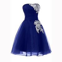 Wholesale vestidos graduacion royal blue - Simple short homecoming dresses juniors royal blue long dresses african party dresses vestidos formatura graduacion 2016