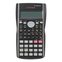 Wholesale Portable Calculators - Handheld Multi-function 2 Line Display Scientific Calculator 82MS-A Portable Multifunctional Calculator for Mathematics Teaching Free Shippi