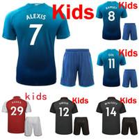 93d7589aa Soccer Boys Short A+++ quality 17 18 home away 3rd blue soccer jersey kids  boy 2017