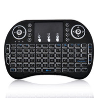 BOWA I8  Rii I8 Smart Fly Air Mouse Remote Backlight 2.4GHz Wireless Bluetooth Keyboard Remote Control Touchpad For S905X S912 TV Android Box X96 T95