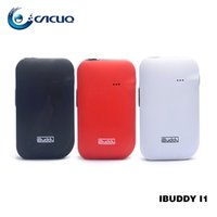 Wholesale Abs Building Materials - Original iBuddy i1 Heating Kit 3.3-4.2V Built-in Rechargeable Battery with 1800mAh with ABS+PC material 100% ecig vape pen