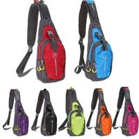 Wholesale Cotton Sling Pouch - Large Capacity Outdoor Bags Chest Bag Outdoor Sport Travel Shoulder Sling Backpack Pouch for Camping Hiking