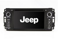 Wholesale Jeep Car Mp3 Player - Auto Radio GPS Navigation Car DVD Player for Jeep Compass Wrangler Grand Cherokee Commander with Radio TV BT USB SD AUX Map Stereo