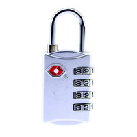 Wholesale Two Color Combination - New Model TSA309 4 Digit Resettable Combination TWO Color Suitcase Customs Code Safe Travel Luggage Lock