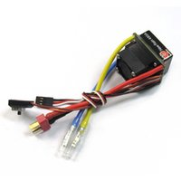Wholesale Hsp Esc Brushed - New 480A Brushed Speed Controller ESC 3-Mode T Plug for 1 10 HSP Tamiya RC Car