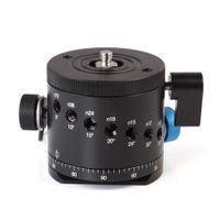 Wholesale Clamp Ballhead - Wholesale-DH-55D Panoramic Panorama BallHead Clamp Indexing Rotator For Camera Tripod Head