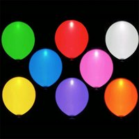 LED Light Balloon For Wedding Celebration festa di compleanno Bar Decorazione Light Up balloon lampeggiante palloncino B599-