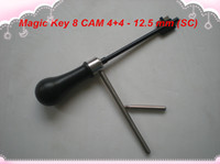 Wholesale Magic Key Lock - free shipping NEW ARRIVAL best quality Magic Key 08 for CAM 4+4, Boda-428, Abloy- 12.5 mm (SC)