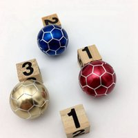 Wholesale juggling wholesale - New 2 generation alloy Hand Football Spinner finger toys finger tip spinner decompression toy DHL SF Express free shipping