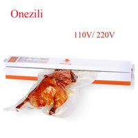 Wholesale vacuum package sealer - Onezili Automatic Electric Vacuum Food Sealer Machine Kitchen Food Sealing Vacuum Packaging Machine Fresh Food Saver Packager
