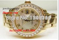Luxury Watches Orologio da polso da donna Yellow Watch da orologio Masterpiece Factory Diamond Automatic Orologi da donna