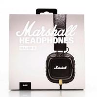 наушники профессионального качества оптовых-2019 Marshall Major II 2-го поколения наушники с микрофоном с шумоподавлением Deep Bass Hi-Fi Hi-Fi гарнитура Профессиональный DJ Высочайшее качество