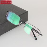 Atacado - Chashma Titanium Ultra Light Weight Eyeglass Frame Eyewear Myopia Eye Glasses Frames for Men
