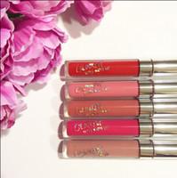 Wholesale Lipstick Colours - stocking !!2016 latest Arrival COLOUR POP Ultra Matte velvety 37 Colors Liquid Lipstick Matte liquid Waterproof Lip Gloss Lipgloss Matte