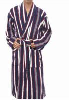 Wholesale Black Terry Robe - 2017 Robes Male 100% Cotton Terry Bathrobes Toweled Pajamas Kimono Men's Bathrobe Mens Sleepwear Long Men Robe