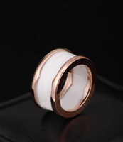 2017 New Arrival Special Offer Freeshipping Bridal Sets Classic Rings For Rings Anel de Primavera 18k Rose Gold Ring Titanium / Wide Version