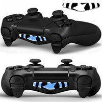 Wholesale Ps4 Brand New - Wholesale New Brand and High Quality PVC Decal Skin Custom For Playstation 4 LED Light Bar Decal Sticker for PS4 Dualshock Controller