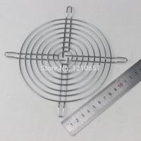 Wholesale Mesh Grilles Wholesale - Wholesale- 5 Pieces LOT Fan Protection Net Grille 14CM 140mm Fan Iron Mesh Computer Case Fan Safety Net