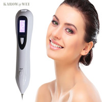 Wholesale Tattoo Clean - Usb Rechargeable Lcd Laser Sweep Freckle Mole Removal Pen Tattoo Removal Machine Dark Spot Speckle Nevus Facial Skin Clean Tool