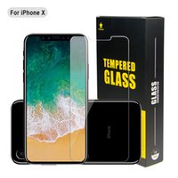 Wholesale Glass Film For Shipping - For Iphone 8 Plus iPhone X Iphone7 Plus Most Economical Tempered Glass Film Screen Protector 0.3MM 2.5D Ship Out Within 1Day