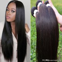 Wholesale Cheap 5a Brazilian Hair - Hair Cheap 5a Malaysian straight KBL products Malaysian virgin straight 3 pcs 300g kinky straight human weaves 3,4,5pcs lot