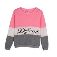 v2 largo al por mayor-Venta al por mayor- Mujeres calientes de la moda Jumper suéter de manga larga prendas de punto jersey Tops gruesos chándales nuevo V2 A7