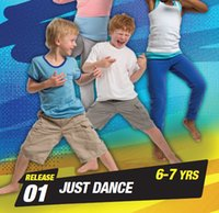 Wholesale Kids Aerobics - Hot Sale BTM New Routine RELEASE JUST DANCE 6-7 YRS Children Kids Aerobics Fitness Exercise Videos