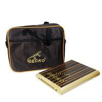 Wholesale birch woods - Wholesale- GECKO PAD-1 Cajon Box Drum with Drum Bag Percussion Instruments 45*235*290mm