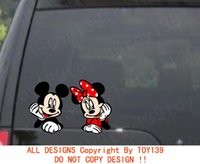 autocollants mickey mouse achat en gros de-Mickey Minnie Mouse