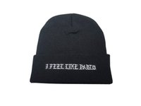 Wholesale Wool Yellow Felt Hat - Hot I feel like pablo beanie drake 6 god palace winter caps lk skull hats Carhart hats baseball winter wool cap tmt weezy Cayler & Sons hats