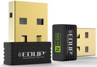 Original EDUP 150Mbps Adaptador USB Wireless Cartão de Rede MTK 7601 Chipset Direct Nano USB Wifi Adaptador Novo Chegada EP-N8553