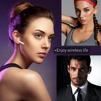 Wholesale Sharp Drivers - Wholesale V1 Mini Bluetooth Earphone Wireless Music Handsfree Car Driver Headset Phone Stealth Earbuds With Microphone Free shiipping