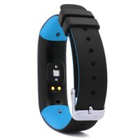 Wholesale Oxygen Heart Rate - P1 Smartband Band Watch Blood Pressure Bluetooth Bracelet Heart Rate Monitor Smart Wristband for Android IOS Phone
