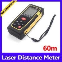 Wholesale Laser Meter Price - 196.85ft digital measure tape best price laser distance meter 60m MOQ=1free shipping