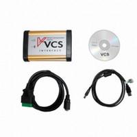 Wholesale Vcs Vehicle Communication Scanner Language - 2017 free shipping Engine Analyzer VCS Interface Vehicle Communication Scanner Interface VCS scanner Multi-Languages high quality