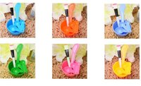 Wholesale Bowls Measures - Women Beauty Set 4 in 1 DIY Facial Mask Tool Face Mask Bowl+ Stir Stick + Mask Brush + Measuring Spoon Makeup Tool Kits