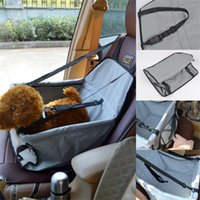Wholesale car seats carriers resale online - Pet Car Seat Cover Waterproof Dog Puppy Cat Cars Seats Bag Pet Articles Accessory Multi Color aw C RY