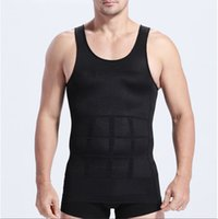 ingrosso vendita degli uomini del bodysuit-Cintura dimagrante cintura vendite all'ingrosso-caldo 2016 nuova maglia appesantita S M L XL XXL Tuta uomo