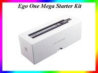 Wholesale E Tech Ego - Hot Joye-tech Ego One Mega Starter Kit 2600mAh Joye Ego One Mega Starter Kit E Cigatette Kit VS subox mini EVOD Mega starter kit