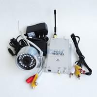 câmera de segurança de cores sem fio venda por atacado-Kit de segurança sem fio mais rentável 30LED 1.2G Night Vision IR cor 1/3