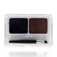 Wholesale Eye Shading Brush - Wholesale-2 Colors Eye Brow Powder Palette Shading Brush Makeup Eyebrow Cosmetic Kit Stylish