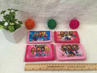 Wholesale Girl S Purses - Free shipping 36 pcs Cartoon Bratz girl`s Wallets Purses fashion wallet Gift Wholesale