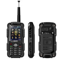 Unlocked Discovery A12 A12i двойной sim Walkie Talkie PTT сотовый телефон 2.4Inch IP67 Водонепроницаемый UHF 3800mAh Quad Band GSM